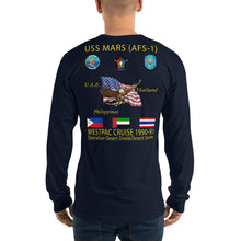 Load image into Gallery viewer, USS Mars (AFS-1) 1990-91 Long Sleeve Cruise Shirt