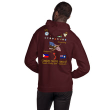 Load image into Gallery viewer, USS Enterprise (CVAN-65) 1966-67 Cruise Hoodie