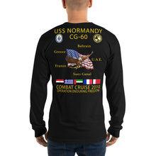 Load image into Gallery viewer, USS Normandy (CG-60) 2010 Long Sleeve Cruise Shirt