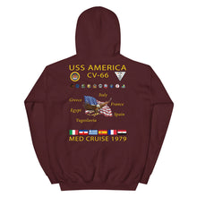 Load image into Gallery viewer, USS America (CV-66) 1979 Cruise Hoodie