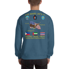 Load image into Gallery viewer, USS Mars (AFS-1) 1990-91 Cruise Sweatshirt