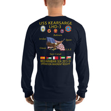 Load image into Gallery viewer, USS Kearsarge (LHD-3) 2015-16 Long Sleeve Cruise Shirt