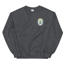 Load image into Gallery viewer, USS New Orleans (LPD-18) Ship's Crest Sweatshirt