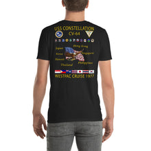 Load image into Gallery viewer, USS Constellation (CV-64) 1977 Cruise Shirt