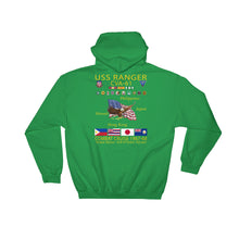 Load image into Gallery viewer, USS Ranger (CVA-61) 1967-68 Cruise Hoodie