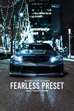 Lightroom Nightlife Preset - FEARLESS (Desktop + Mobile)