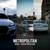 Lightroom Metropolitan Pack (3x Desktop + Mobile presets)
