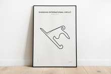 Shanghai International Circuit - Track Poster