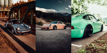 Triple Porsche print pack by Mike Crawat