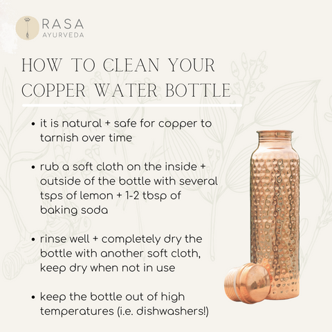 How to Clean a Copper Water Bottle