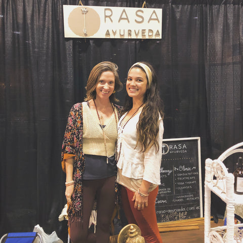 Lisa & Tiffany at the National Women's Show
