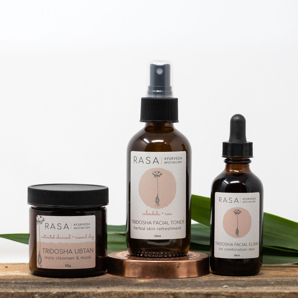 3-Step Facial Kit - Rasa Ayurveda Apothecary