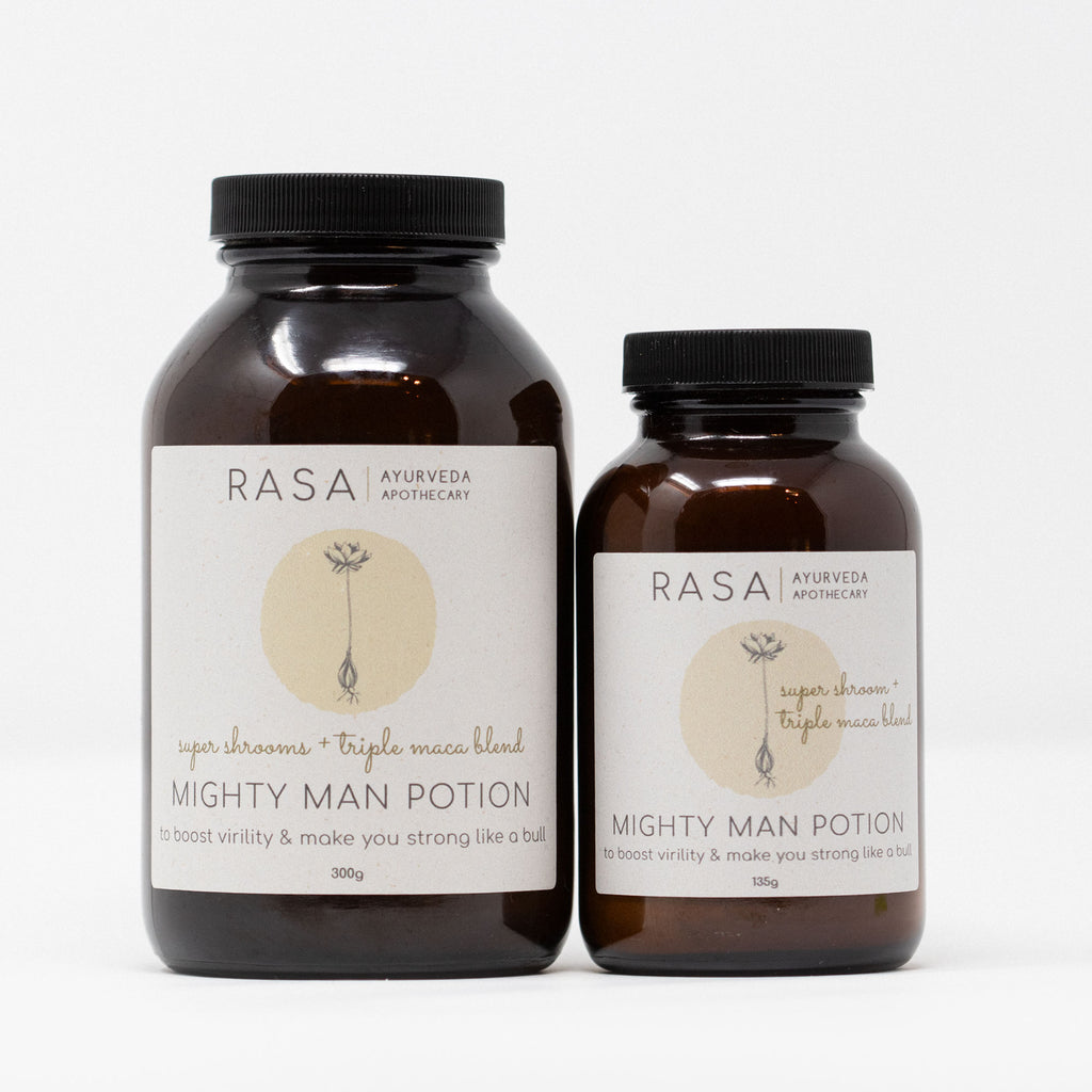 Mighty Man Potion - Rasa Ayurveda Apothecary