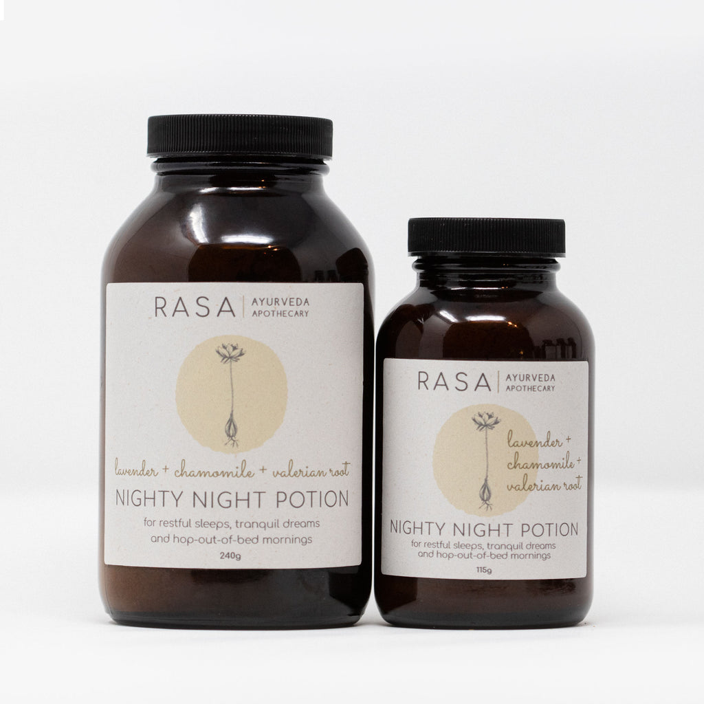 Nighty Night Potion - Rasa Ayurveda Apothecary