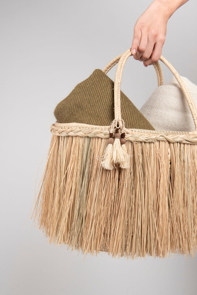 Fringes Basket
