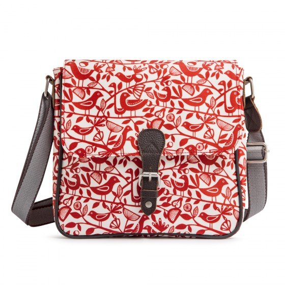 Väska Satchel Red Doves, Nicky James