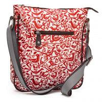 Väska Crossbody Red Doves, Nicky James