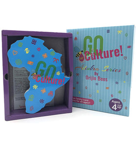 Go Culture! African Symbols Educational Card Game Adinkra Series by Orijin Bees