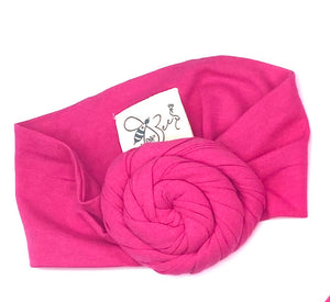 Matching Girl/Doll Turban or Headband Set (doll sold separately)