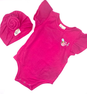 Girls Romper Set