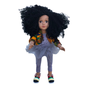 Curl Girlfriend Chante African American Black Latino Biracial Doll