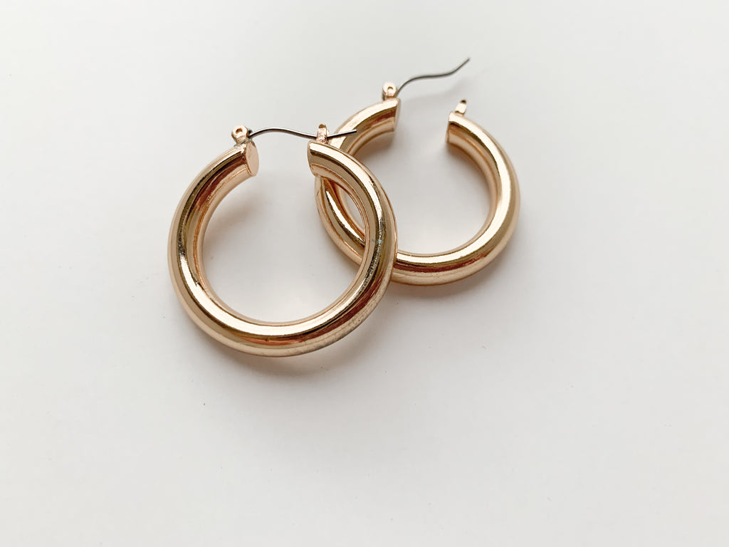 """Bronx"" Earrings (1.25"")"