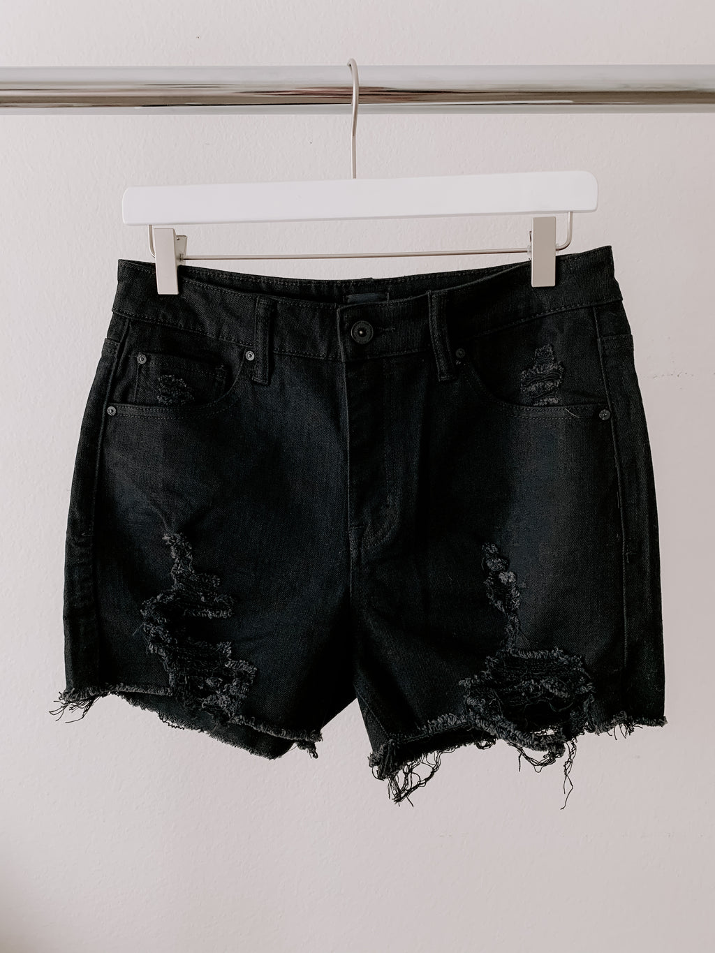 """Balboa"" Denim Stretch Shorts"