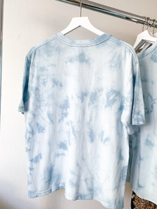 "Almost Perfect ""Blue Tie Dye"" Tee"