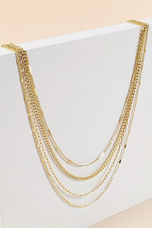 """Valencia"" Layered Necklace"