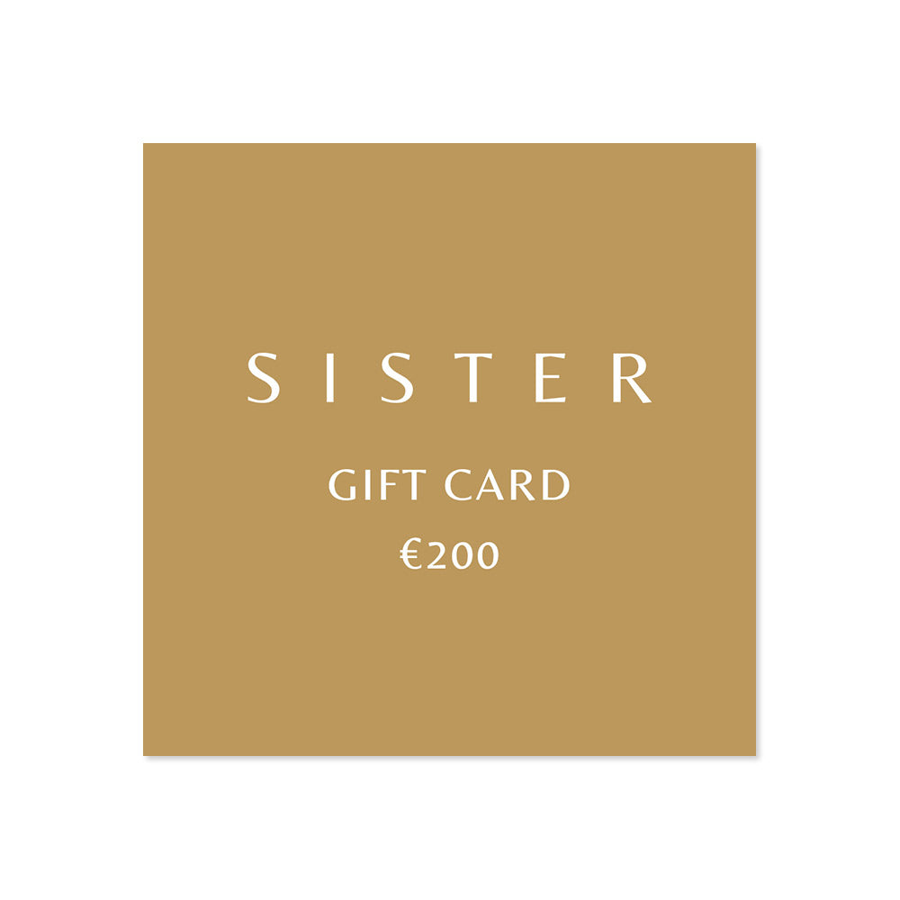 Virtual Gift Card - Sister the brand