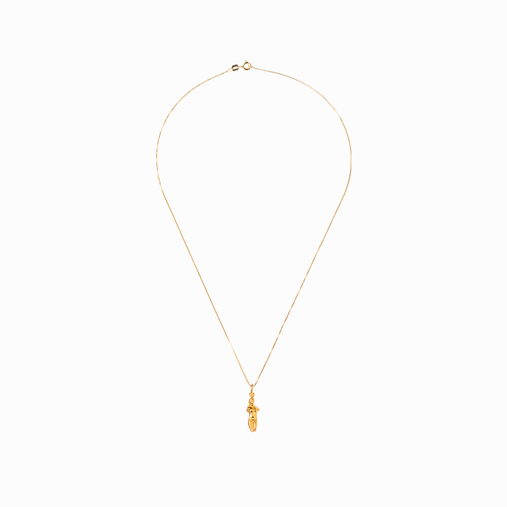 Aphrodite Pendant & Necklace - Gold-Plated Silver - Large - Sister the brand