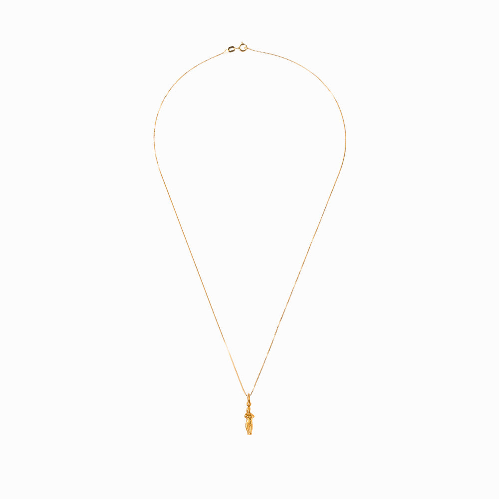 Aphrodite Pendant & Necklace - Gold-Plated Silver - Small - Sister the brand