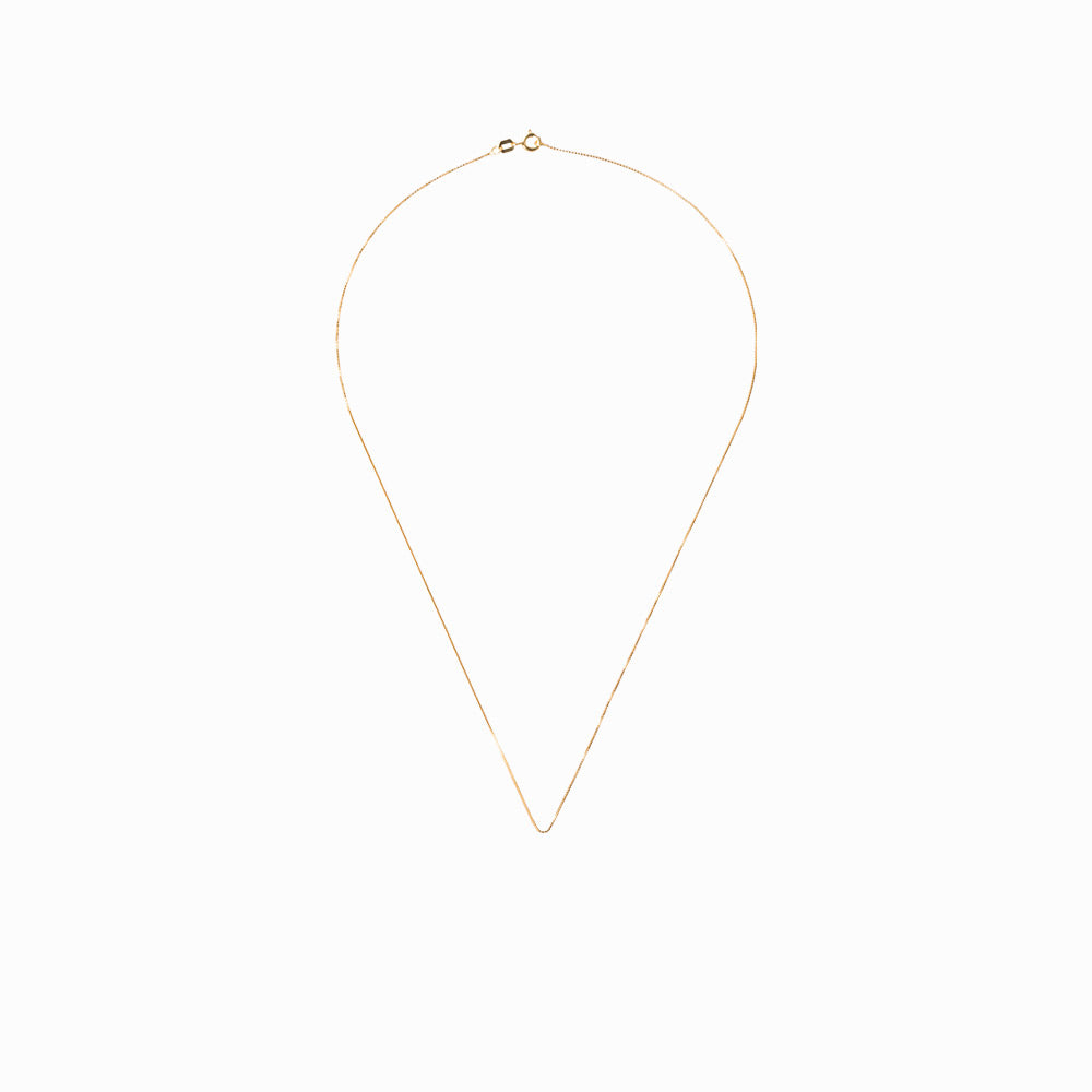 Box Chain Necklace in Gold - Sister the brand