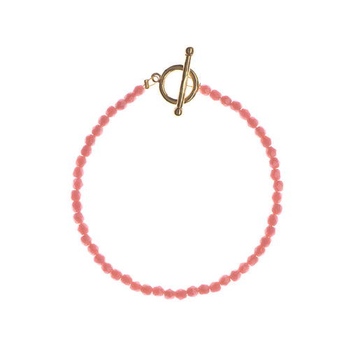 Coral Bay Glass Beaded Bracelet - Sister the brand