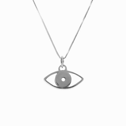 Evil Eye Silver Pendant - Sister the brand