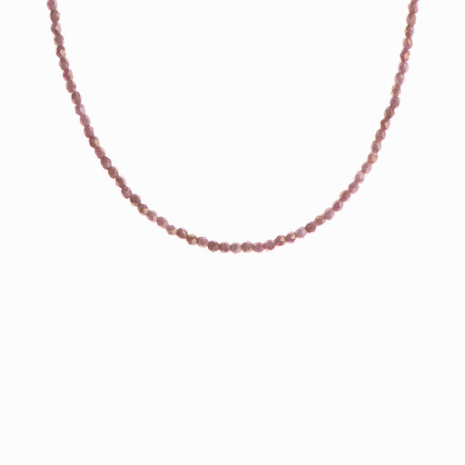 Teracotta Glass Beaded Necklace