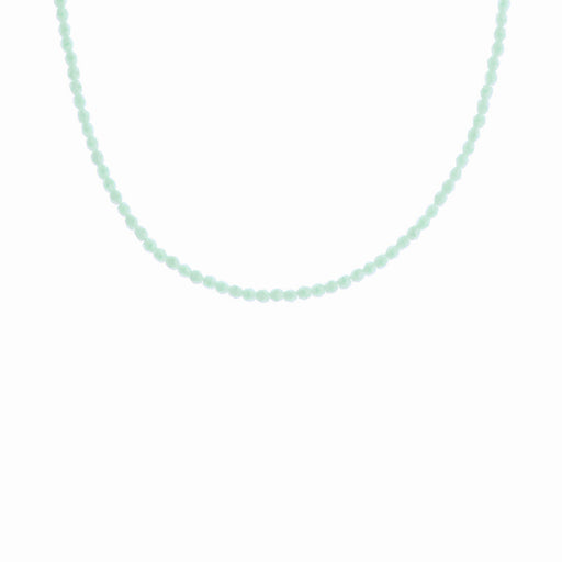 Mint Sorbet Glass Beaded Necklace - Sister the brand