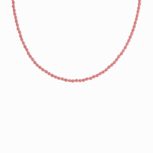 Coral Bay Glass Beaded Necklace - Sister the brand