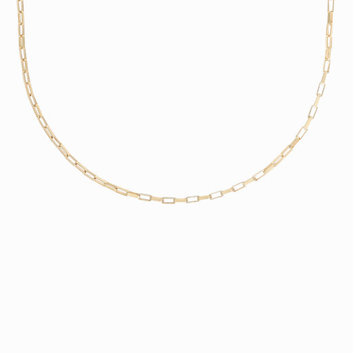 Chunky Chain Necklace in Gold