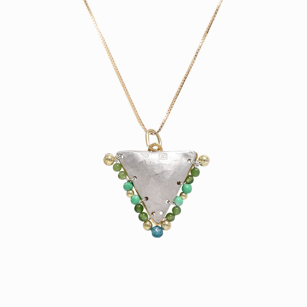 Copy of AMAYA Multi Green Eye Pendant - Mama - Sister the brand