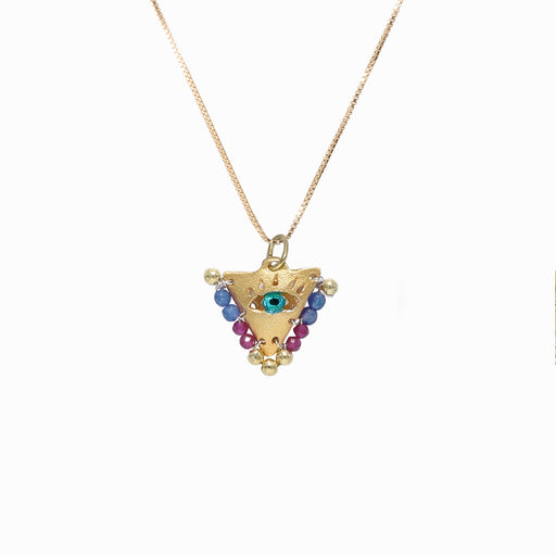 AMAYA Blue & Berry Eye Pendant - Baby - Sister the brand