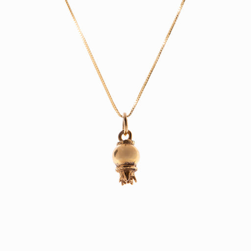 Pomegranate Gold Pendant - Sister the brand
