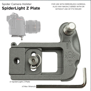 "SpiderLight ""Z"" Camera Plate"