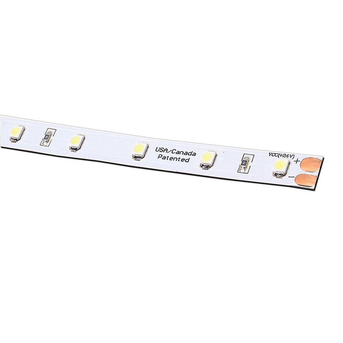 LED High Output Tape Lights 24V DC 12 in. Segment - Step 1 Dezigns