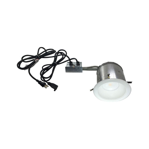 6 in. LED Recessed Daisy Chain Light Kit - IC Airtight - step-1-dezigns