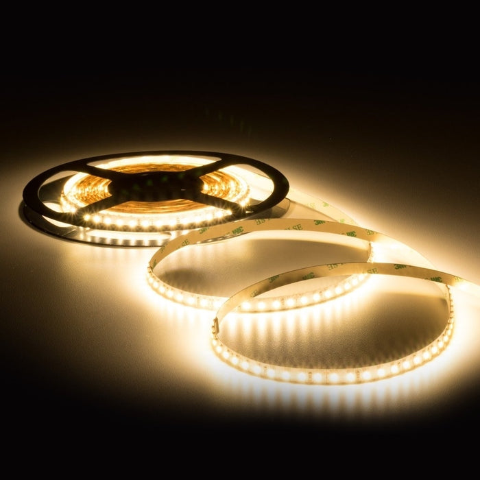 LED Mini High Output 5mm Tape Lights 24V DC 16 ft Reel - Step 1 Dezigns