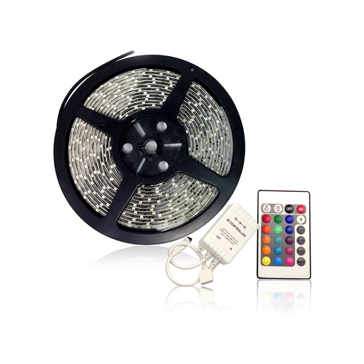 LED Single Color Chasing Tape Light Kits 12V DC 16 ft Reel - Step 1 Dezigns