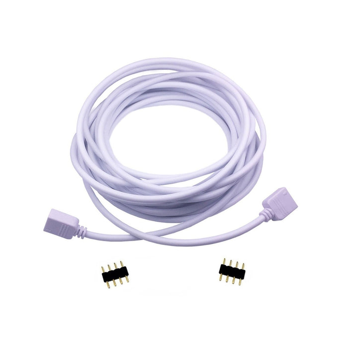 RGB LED Extension Cable with 4-Pin Connectors - step-1-dezigns