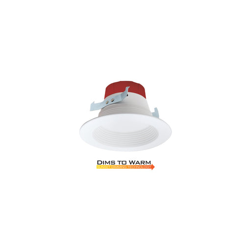 4 in. LED Dims to Warm Round Downlights - step-1-dezigns