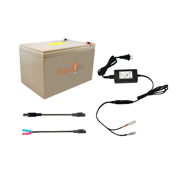 12V 3.2 Ah SLA Trade Show Battery Kit - step-1-dezigns